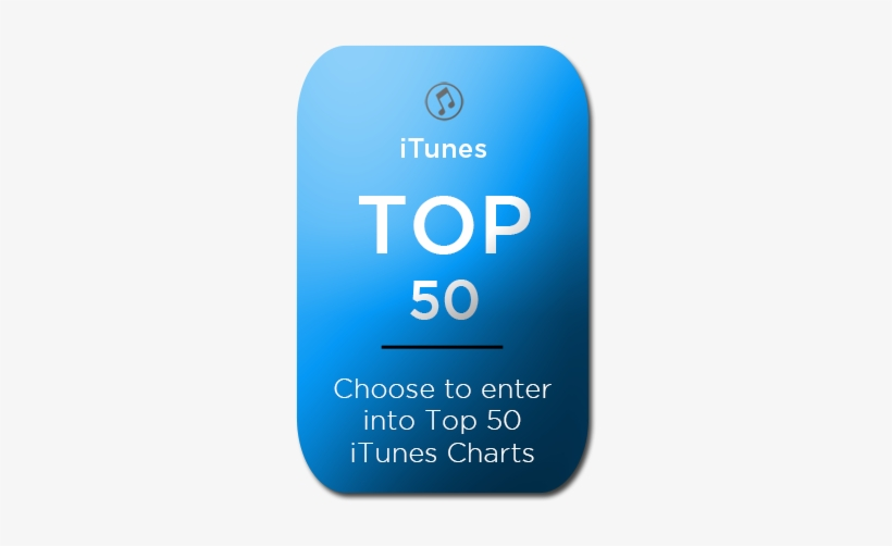 Itunes Top 50 Charts Hover - Itunes Transparent PNG - 300x450 - Free