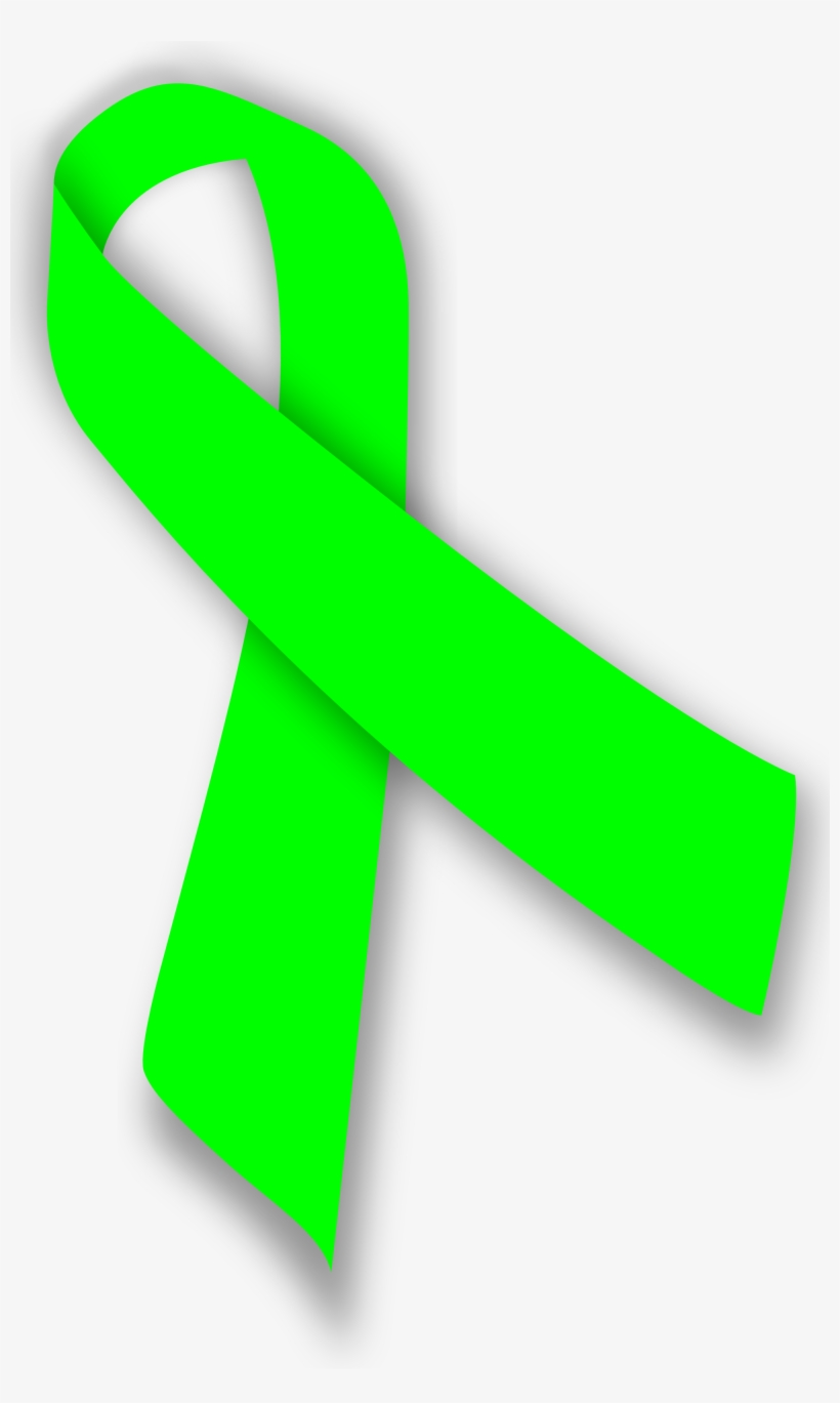 Lime Ribbon Non Hodgkins Lymphoma Sign Transparent Png