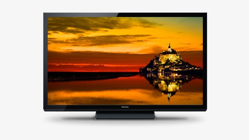 Panasonic Tcp50x60 50 720p Plasma Tv Transparent Png 613x460 Free Download On Nicepng