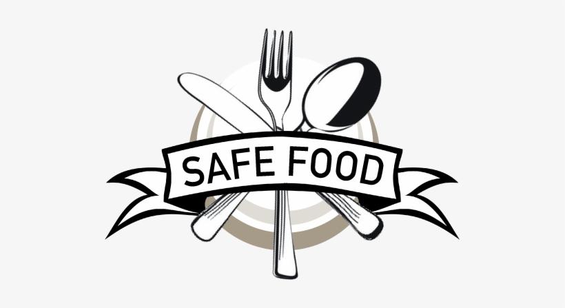Safe Food Logo Banner Clip Art Transparent Png 516x383 Free Download On Nicepng