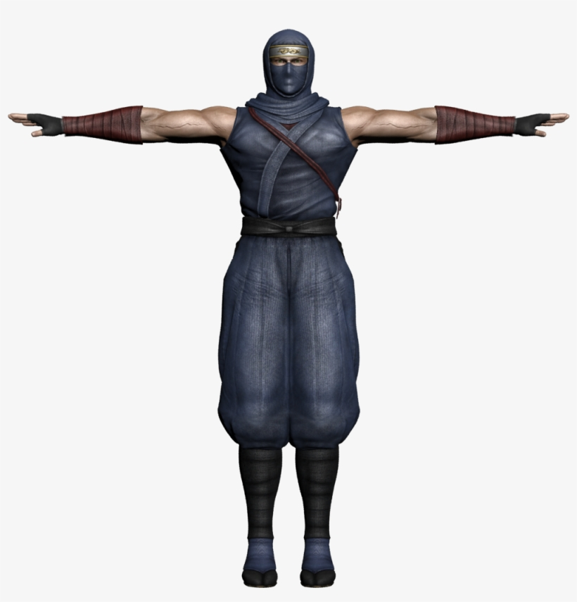 Ryu Hayabusa 3d Model Download - Leon S Kennedy 3d Model Transparent