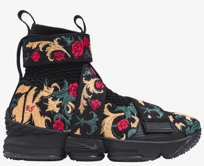 online store f7fe3 8235b Kith X Lebron Lifestyle 15  king s Crown  - Lebron 15 Kith Black