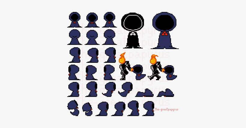 Papyrus Battle Sprite Sheet 191818 Undertale River Person Sprite
