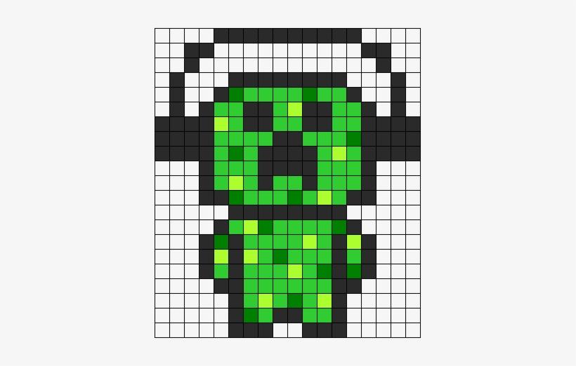 Mario Fireball - Pixel Art Minecraft Transparent PNG