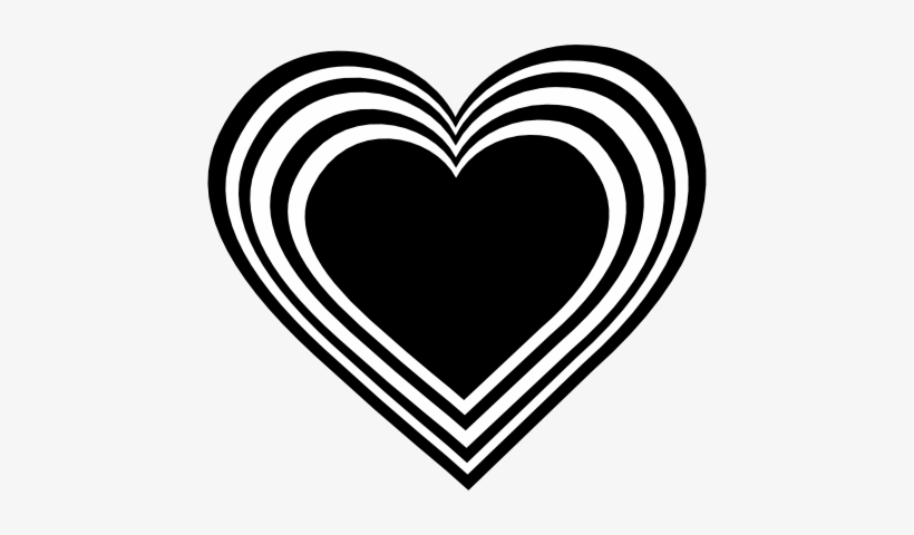 White Heart Black Background Black N White Heart Clipart White And Black Heart Png Transparent Png 448x400 Free Download On Nicepng