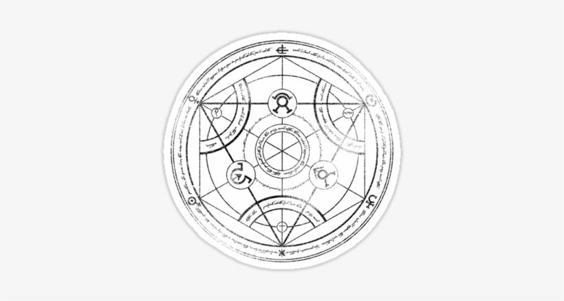 Human Transmutation Circle Meaning Evolution Gfx ⺠Alchemy Lines