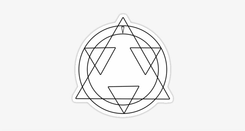Fullmetal Alchemist Transmutation Circle Go Back Electric
