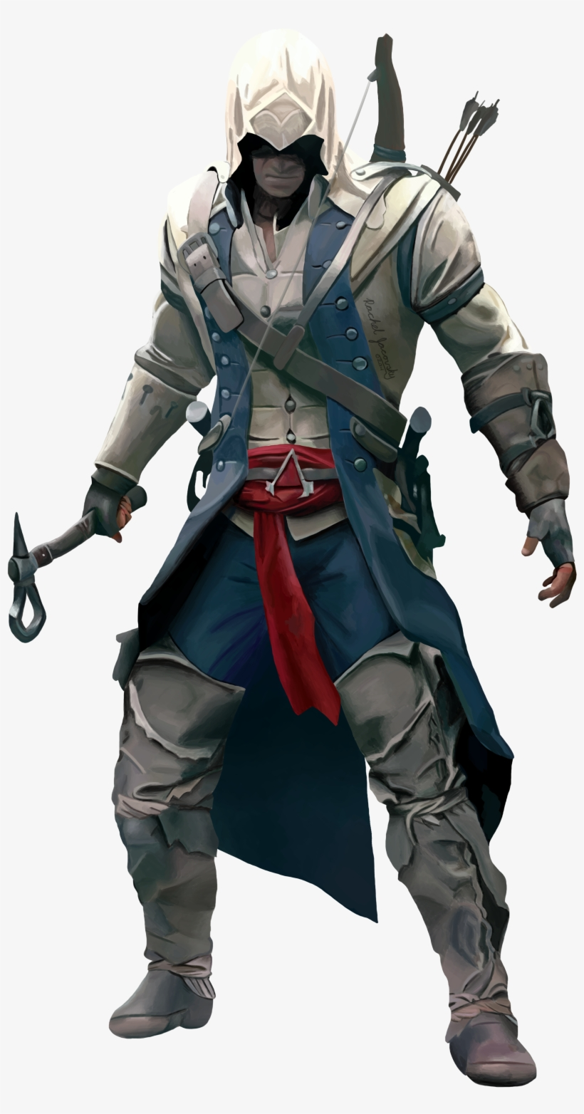 Connor Kenway Coolest Assassin S Creed Outfit Transparent Png