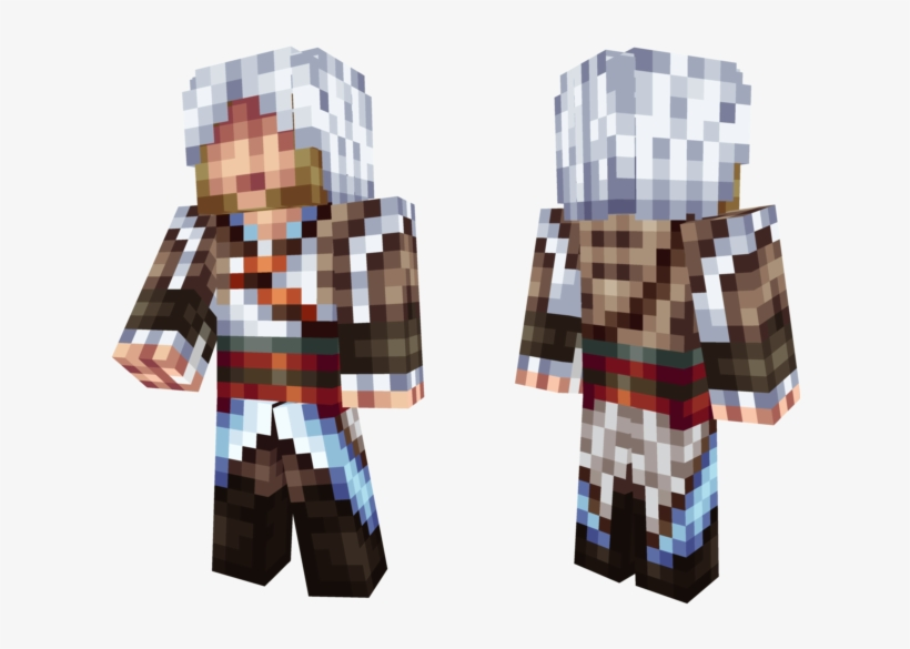 Xcehqpnpng Skin Minecraft Assassin S Creed 4 Transparent Png