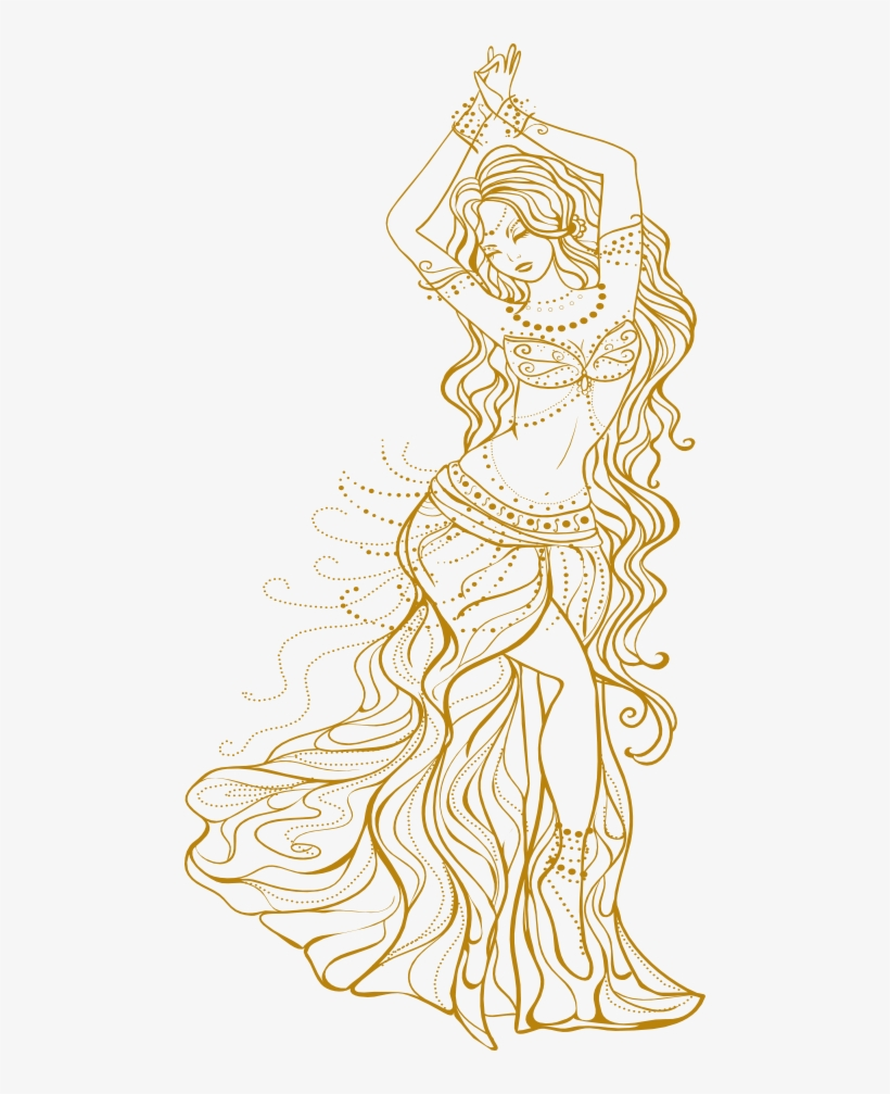 Schedule Belly Dancer Drawing Transparent Png 480x927 Free Download On Nicepng