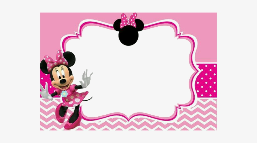Report Abuse Minnie Mouse Invitation