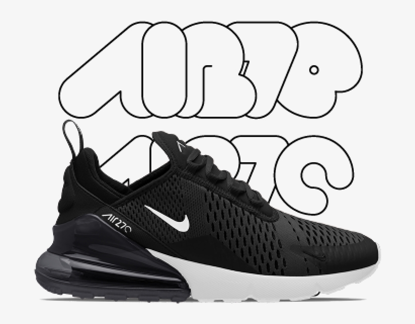 Air Max - Nike 270 Foot Locker Transparent PNG - 750x750 ...