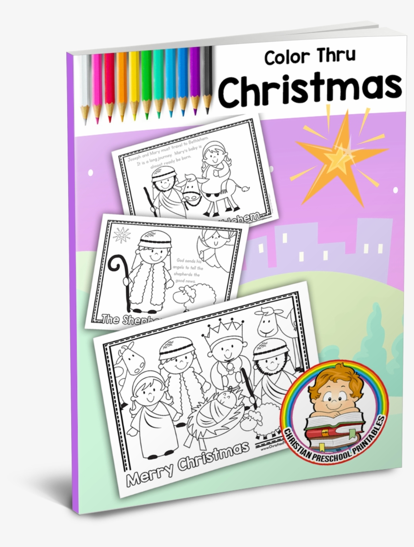 Religious Christmas Bible Coloring Pages - Joy to the World ... | 1083x820