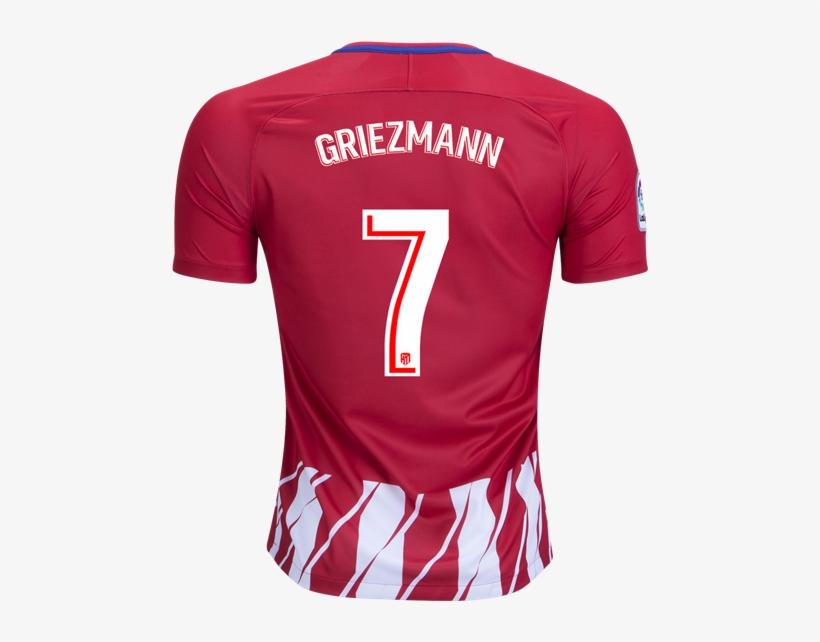 7c20ada6ba6 Nike Antoine Griezmann Atletico Madrid Home Jersey - Atletico Madrid 18 19  Griezmann