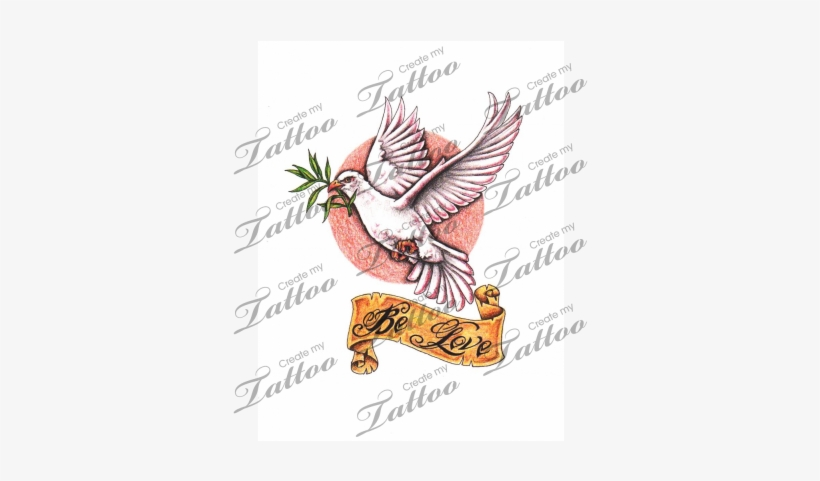 Marketplace Tattoo Dove And Olive Branch Tattoo Dove With Olive