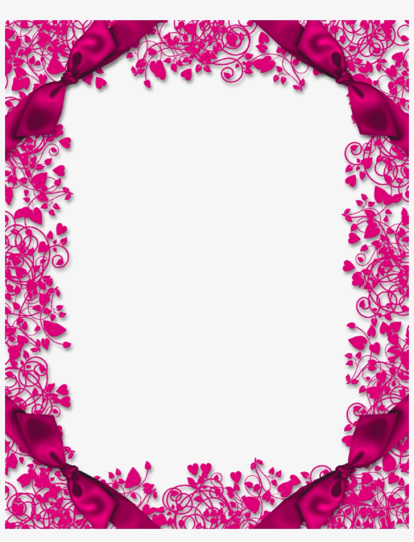 Art page. Frames with hearts clipart