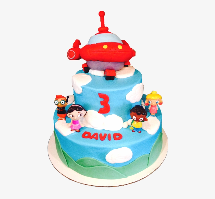 Amazing Little Einstein Birthday Cake With Rocket Ship Topper Birthday Funny Birthday Cards Online Alyptdamsfinfo