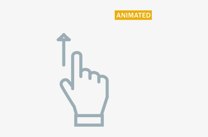 Scorll Up Swipe Up Animation Svg Transparent Png 548x548 Free Download On Nicepng