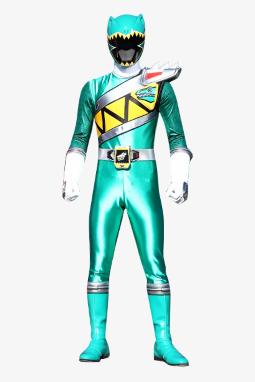 - Riley Griffin, Green Dino Charge Ranger - Power Rangers Dino