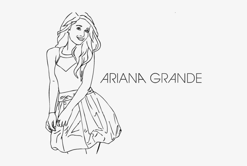 Ariana Grande Coloring Page Coloringcrew Ariana Grande Disegni Di