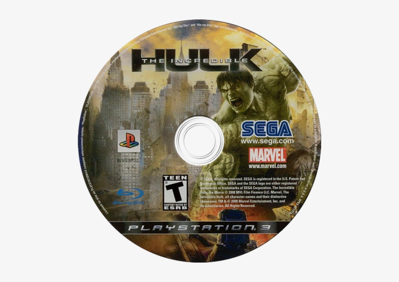 The Incredible Hulk Ps3 Disc - Software Pc Game - Der Unglaubliche