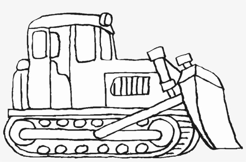 Construction Vehicles Coloring Pages Bulldozer Bulldozer Printable