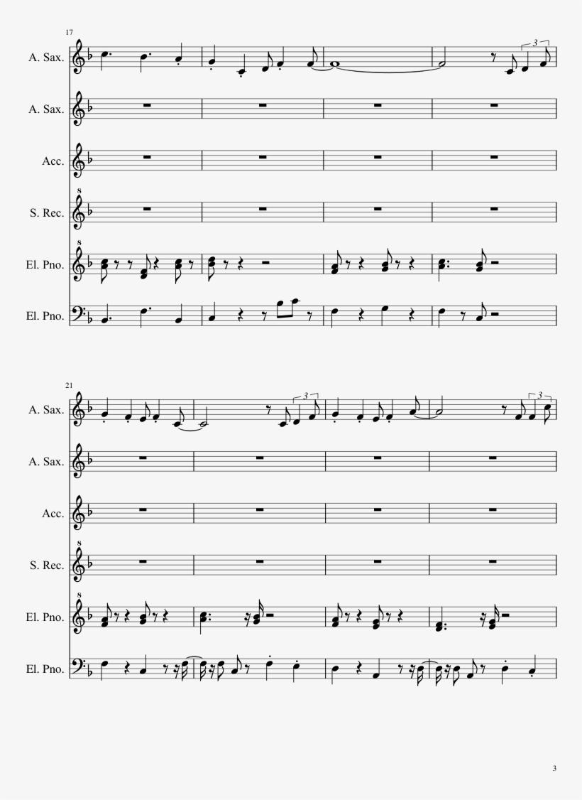 Super Mario 3d World Sheet Music Composed By Mahito - Takarajima