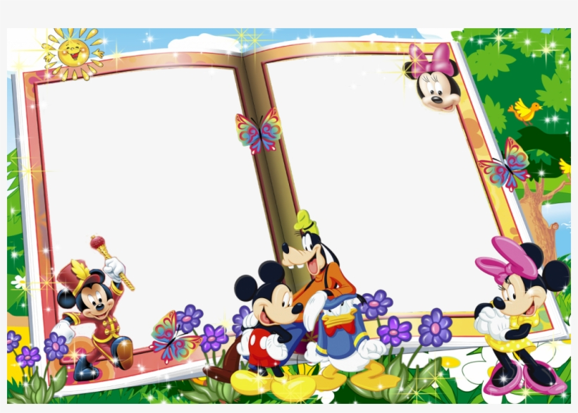 Mickey Mouse Frame Wallpapers Hd Frames Png Mickey Mouse