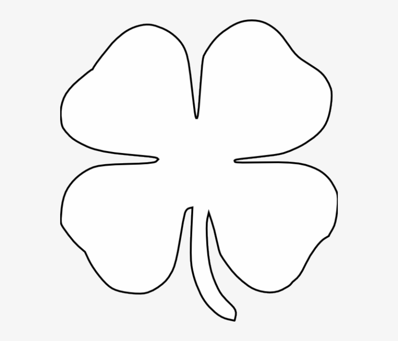 It's just a picture of Remarkable St Patrick's Day Clover Printable