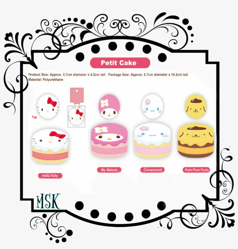 Sanrio Characters - Tim Holtz Stamper's Anonymous Collection Stamp