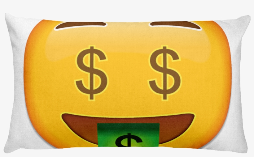 Emoji Bed Pillow - Emojis De Whatsapp Dinero Transparent PNG