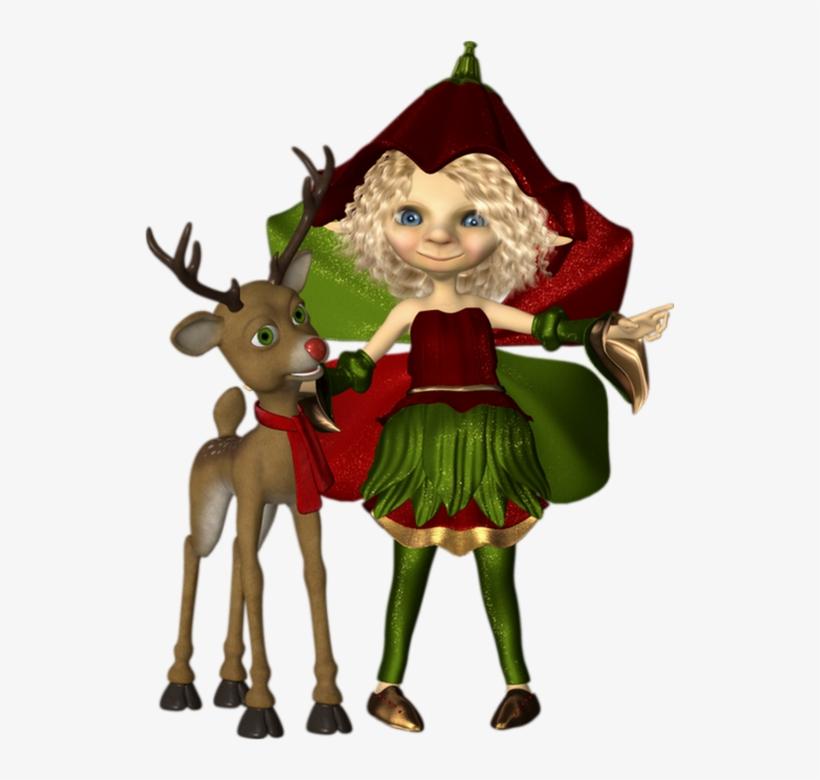 Cerf Noel Noël, Tube Cookie, Elfe Png, Cerf   Christmas Transparent PNG