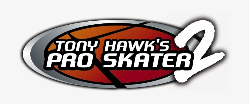 Tony Hawk S Pro Skater 2 Logo Tony Hawk 2 Logo Transparent Png 700x270 Free Download On Nicepng