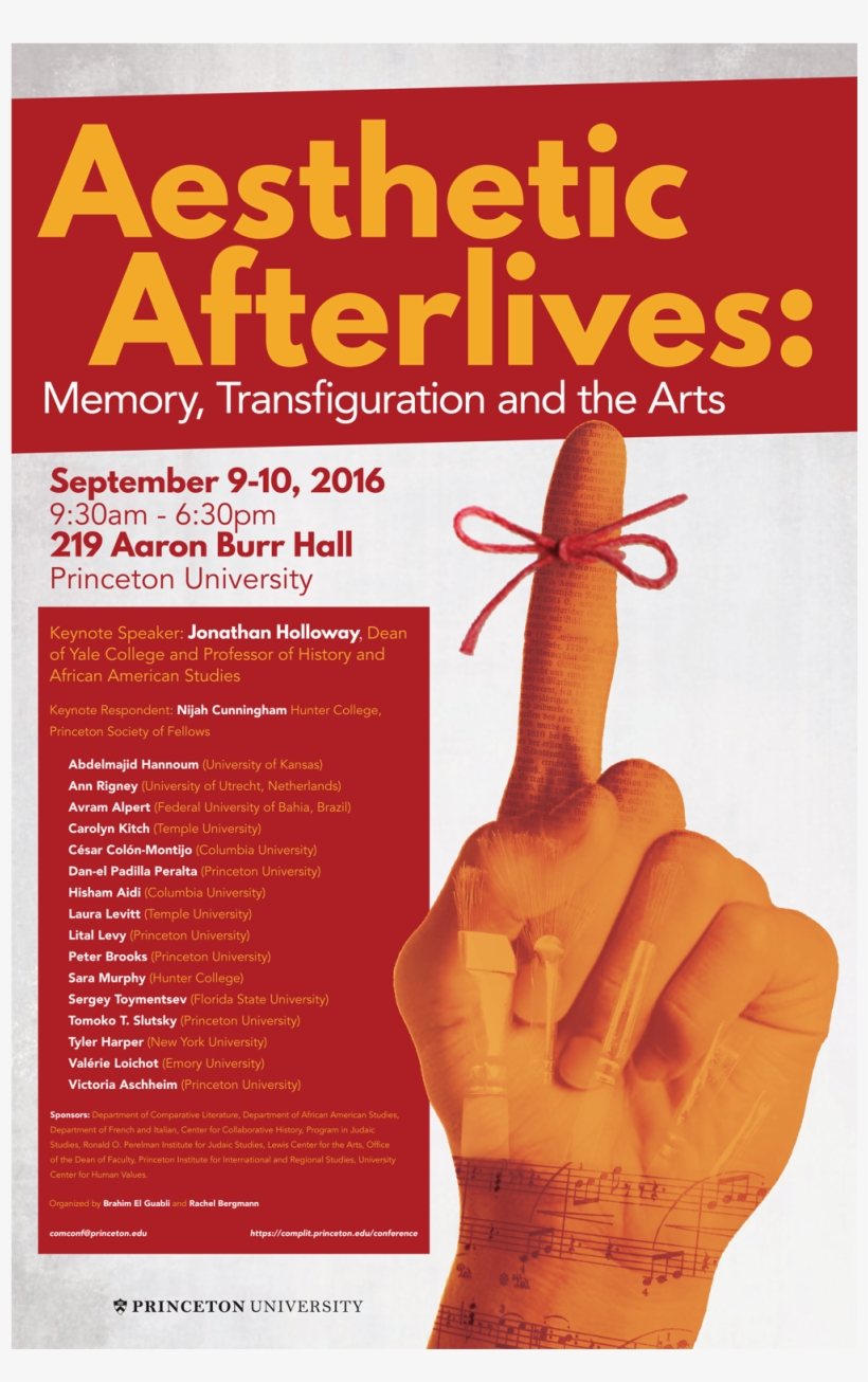 Memory, Transfiguration And The Arts - Aesthetic Afterlives