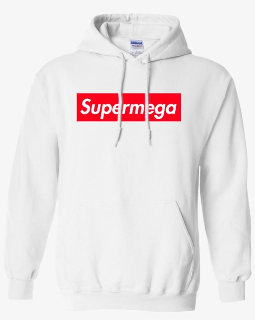 Supermega Supreme Logo Box Shirt Hoodie Tank Im Finna Nut Hoodie Transparent Png 1155x1155 Free Download On Nicepng