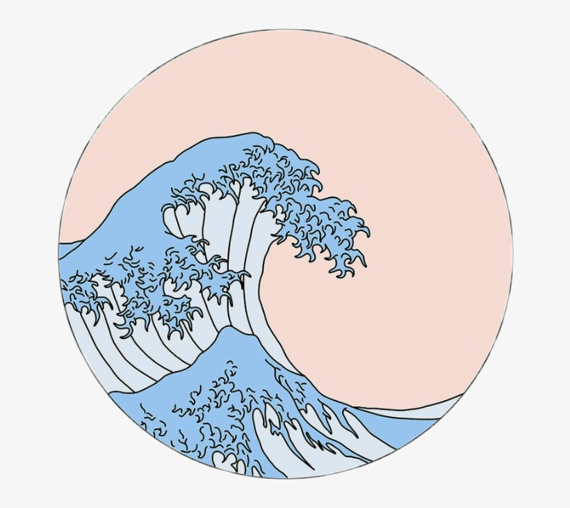 Waves Aesthetic Great Icon Tumblr Aesthetic Wave Sticker