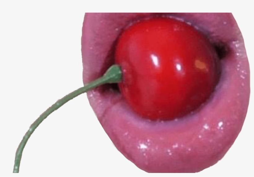 Cherry Lips Red Aesthetic Vaporwave Grunge Vintage Vaporwave