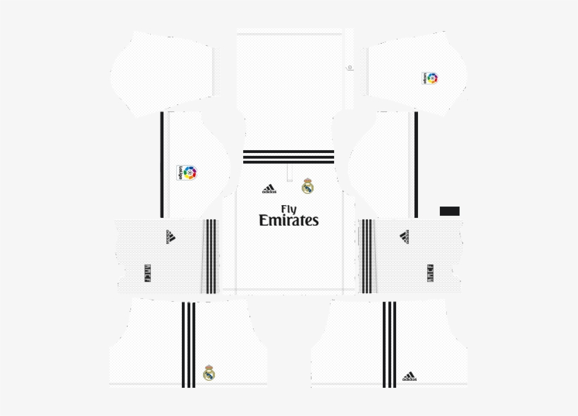 more photos 6b50a a11a7 Kit Real Madrid 512x512 2019 Transparent PNG - 509x510 ...