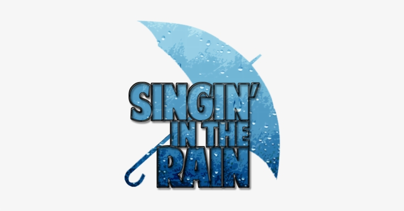 Singing In The Rain Logo Transparent PNG - 350x366 - Free