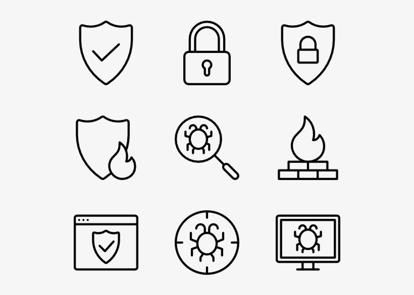 Security 36 Icons Icons Resume Transparent Png 600x564 Free
