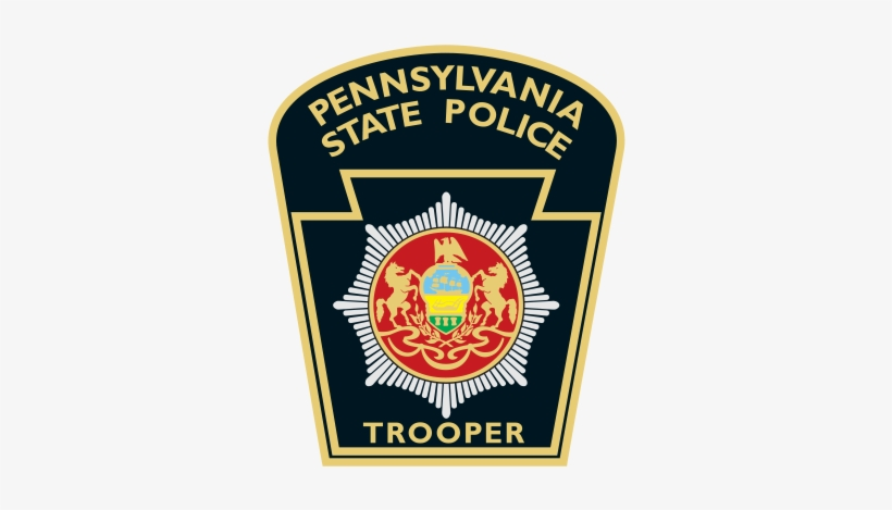 """STATE POLICE TN STATE TROOPER EMBROIDERED PATCHES  4/"""""""