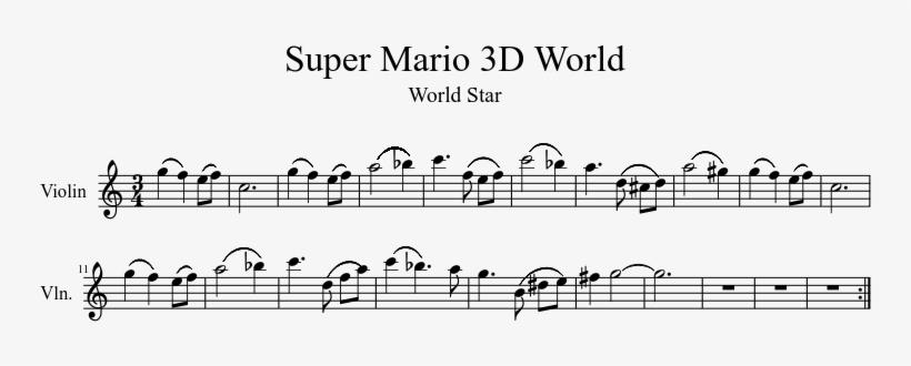 Super Mario 3d World - Super Mario 3d World Theme Violin