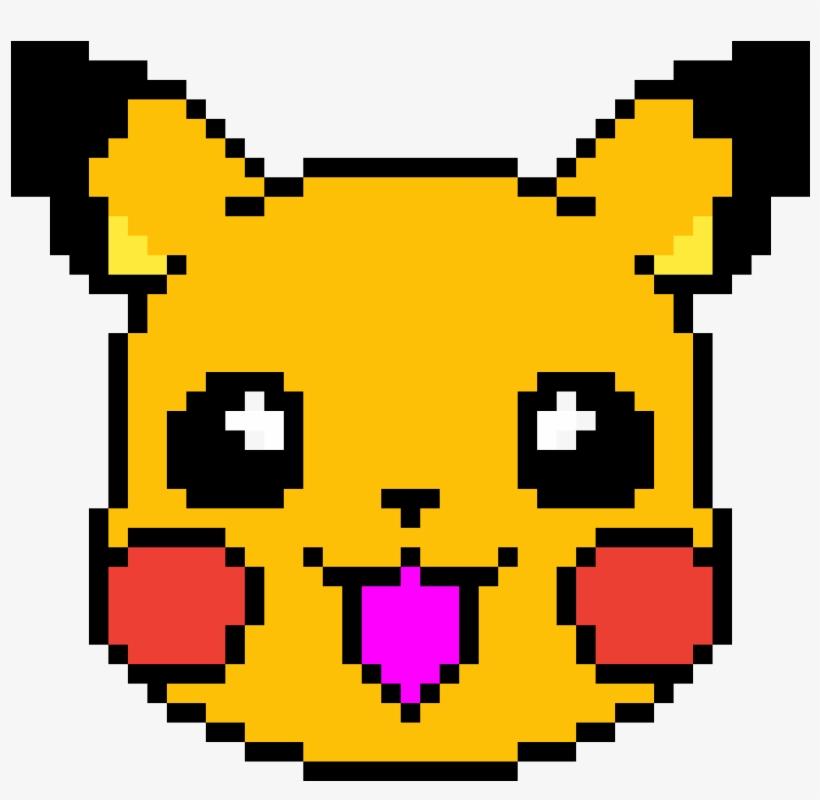 Pikachu Pikachu Pixel Art Minecraft Transparent Png