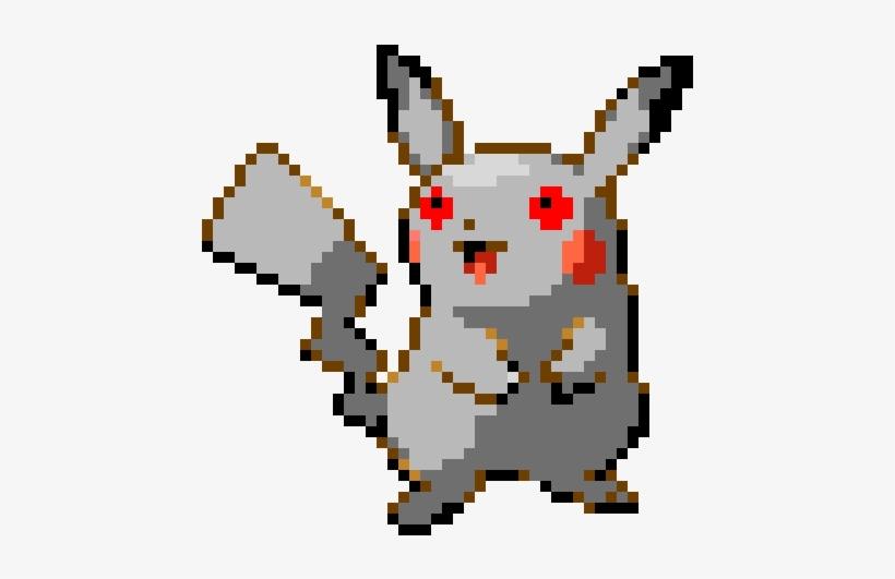 Robot Pikachu Pixel Art Pikachu Png Transparent Png