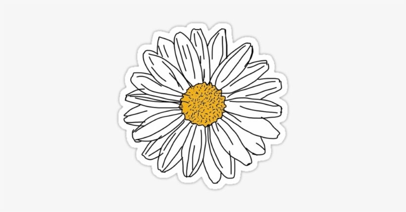 image about Tumblr Stickers Printable referred to as Daisy By means of 201195 Tumblr Stickers, Lovable Stickers, Printable
