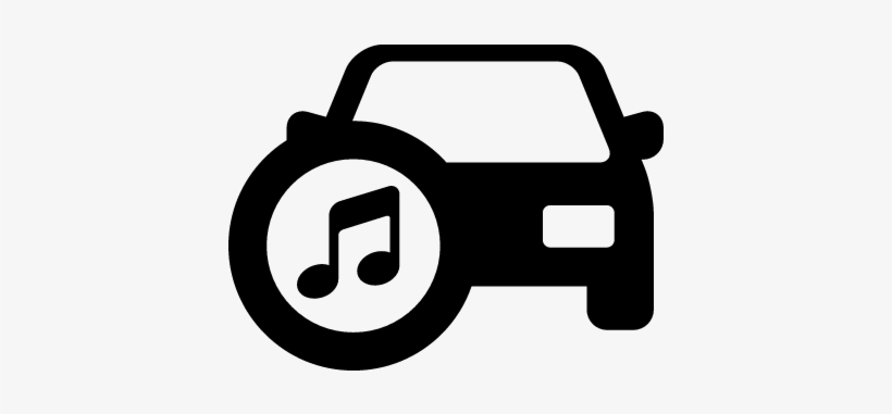 Car With Music Vector Car Music Icon Transparent Png 400x400