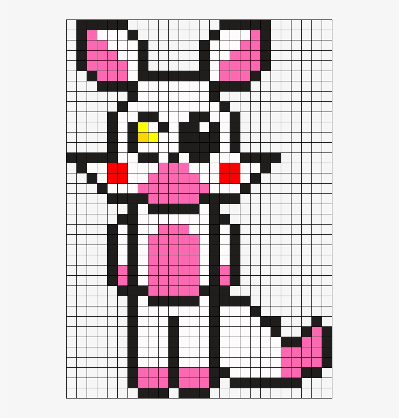 Mangle Perler Bead Pattern Bead Sprite Minecraft Mangle