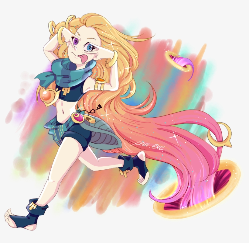 Zoe By Pauexe Hd Wallpaper Background Fan Art Artwork Asus Rog