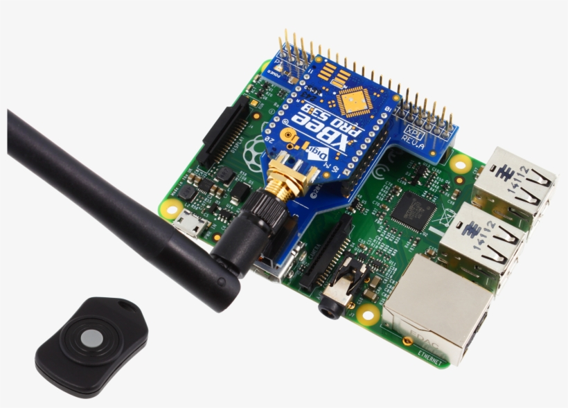 Please - Digi Tel0021 Xbee-pro 900hp S3b Rpsma Antenna Transparent