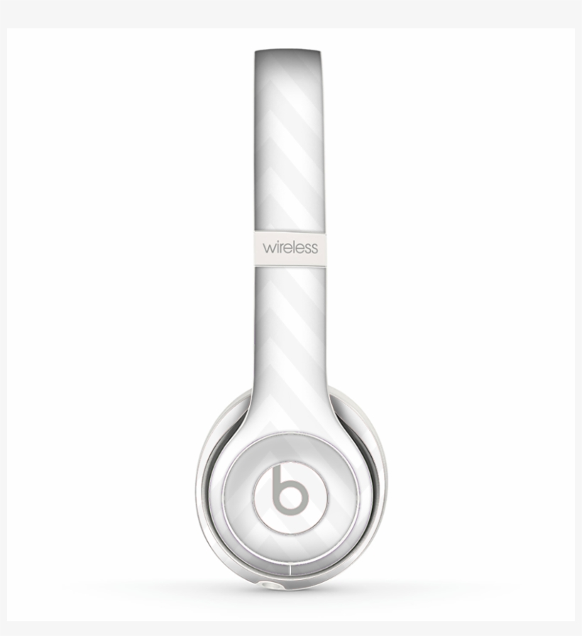 The Large Chevron White Png Skin Set For The Beats Headphones Transparent Png 828x865 Free Download On Nicepng